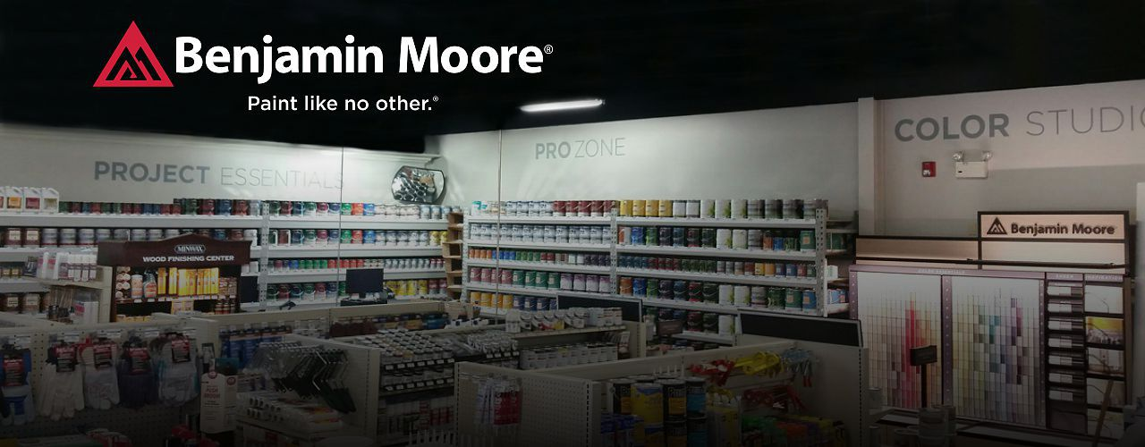 Benjamin Moore Paint Experts at 13 locations across New England