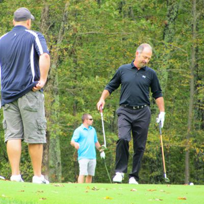 Foxwoods golfers playing in autumn